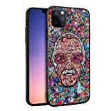Stan Super Heroes Godfather Lee Famous Comics Writer Design Memorial Colorful Style 3D Relief Hard PC Cover Protective Case for iPhone 11 iPhone 11 Pro iPhone 11 Pro Max (iPhone 11 Pro)