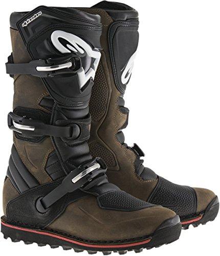 Alpinestars Motocross-Stiefel Tech-T Braun Gr. 43