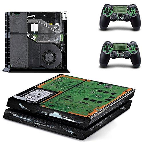 qKonsole PS4 Skin Elektronik Designfolie Sticker Playstation 4 Vinyl Schutzfolie - Matt