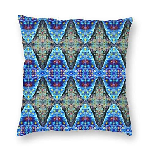 Lawenp Throw Pillow Cover Alchemical Dots Decoración del hogar Funda de Almohada Funda de Almohada Cuadrada Funda de cojín para sofá Cama