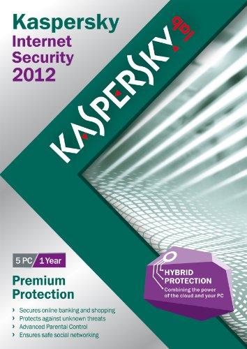 Kaspersky internet security 2012 (5 postea, 1 an) [import anglais]