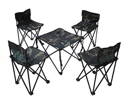 Draagbare klaptafels en stoelen vijf sets van outdoor tafels en stoelen picknicktafel salontafel