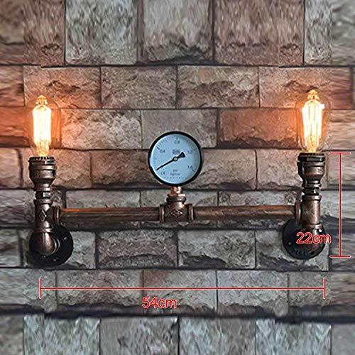 MEIXIAN Wandlamp binnen vintage loft waterleiding E27 bar restaurant industriële wandlampen lamp lamp lamp Steampunk lamp eenvoudig retro