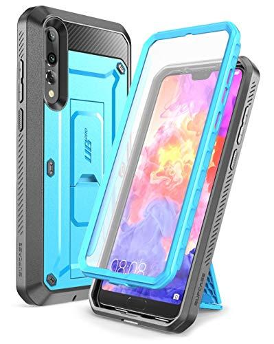 SupCase Funda Huawei P20 Pro [UB Pro] 360 Grados Case con Soporte y Protector de Pantalla Incorporado para Huawei P20 Pro 2018 Azul