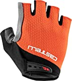 Castelli Cycling Entrata V Glove for Road and Gravel Biking l Cycling - Fiery Red - Large