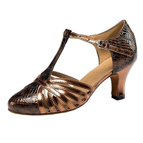 MGM-Joymod ,  Damen Jazz & Modern, Braun - Brown/6cm Heel - Größe: 39