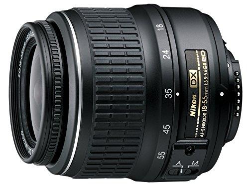 Nikon AF-S DX Zoom-Nikkor 18-55mm 1:3.5-5.6G ED II Lens Black (Generalüberholt)