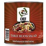Global Chef - 3 Bean Salad - 111 oz (3.15 kg) - JUMBO size