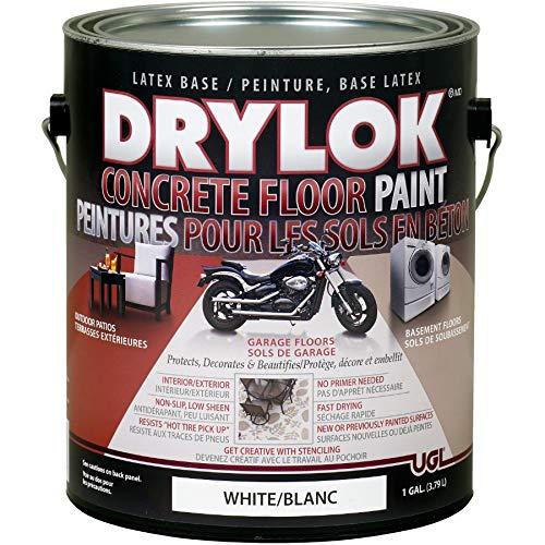 3.79L White Latex Concrete Floor Paint