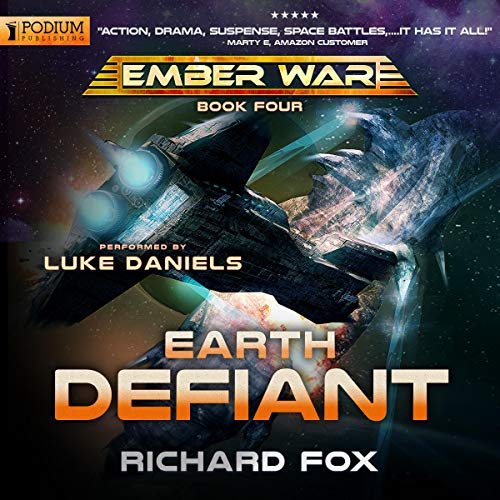 Book cover of  Earth Defiant: The Ember War, Book 4