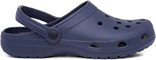 Zone - Adults Eva Navy Slip On Clog Sandal