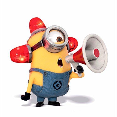 Marvel & Minions verschieden späht Kinder-Lieblings-Charaktere 35cm oder 70cm Wandtattoo, Vinyl, Motiv: Wandkunst, Customise4U™ (minion siren, 350mm)