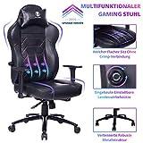 KILLABEE Gaming Stuhl Bürostuhl mit Verstellbarer integrierter Lendenwirbelstütze und...