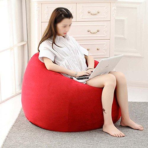 Chaises longues-Chaises longues-- Beanie mignon enfants créatif amovible et lavable paresseux canapé soft tabouret unique chambre flottante fenêtre chaises paresseux canapé (couleur facultatif) --Applicable à l'intérieur et à l'extérieur ( Couleur : #2 , taille : 110*90cm )