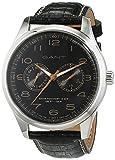 Gant Time Orologio da polso uomo Montauk Day-Date, analogico, al quarzo, in pelle, W71601