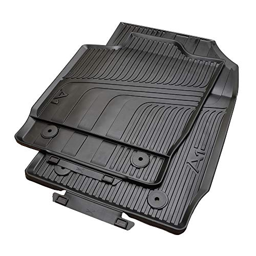 Audi A1 8X Gummifussmatten vorn 2 tlg. Allwettermatten Fußmatten Matten Gummi