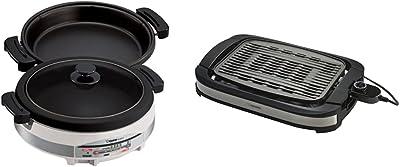 Zojirushi EP-RAC50 Gourmet d'Expert 1350-Watt Electric Skillet & EB-DLC10 Indoor Electric Grill