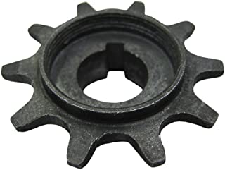 Flying Horse 2-Stroke Motorized Bicycle Engine 10 Tooth Front Drive Sprocket – Gas Bike 10T Engine Sprocket Replacement