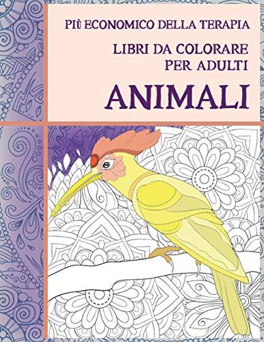 Libri da colorare per adulti - Più economico della terapia - Animali