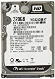 WD Black 320 GB Mobile Hard Drive, 2.5 Inch, 7200 RPM, SATA II, 16 MB Cache (WD3200BEKT)  (Old Model)