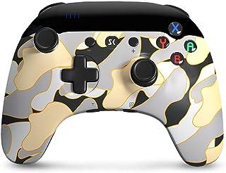 Mando para Nintendo Switch, Inalámbrico Mando Switch Pro Gamepad Mandos con 6-Axis & Doble Vibración, Función Turbo para N...