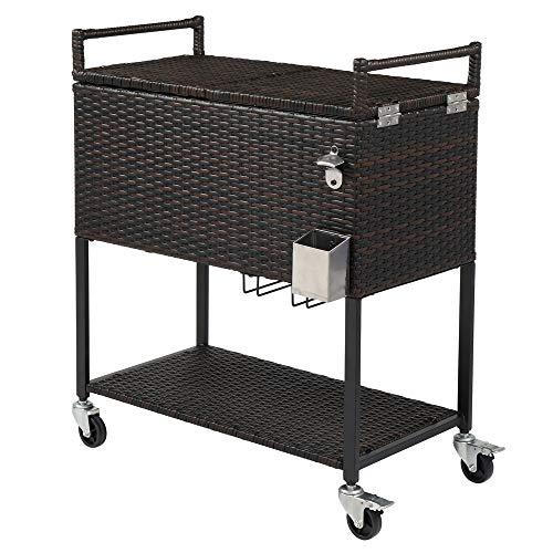 wicker patio cooler - 7