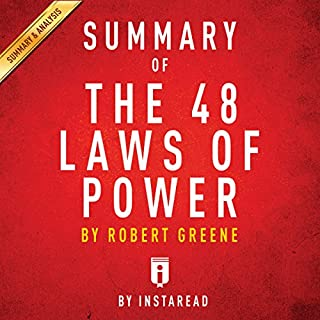 Summary of The 48 Laws of Power: by Robert Greene | Includes Analysis cover art
