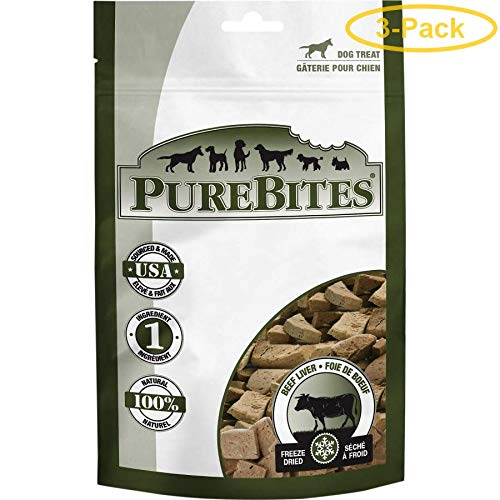 top rated Pure Bites Frozen Beef Liver Treat for Dogs (3) 2020