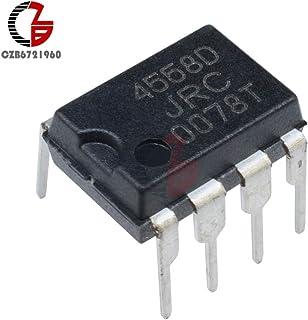 Gimax 20Pcs JRC4558D NJM4558D JRC 4558D DIP8 OPAMP OP AMPS CHIP IC JRC4558