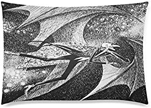 Custom The Halloween Tree by Ray Bradbury Pillowcase 20x36 two sides Zippered Rectangle PillowCases Throw Pillow Covers