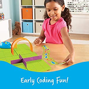 Learning Resources Code & Go Robot Mouse Activity Set, STEM, Kids Coding Toy, Programs up to 40 Steps, Christmas Gift…