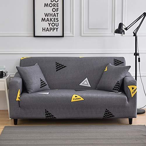 ASCV Stretch Sofabezug SchonbezügeAll-Inclusive Couch Case für Verschiedene Formen Sofa Stuhl L-Style Sofa Case A10 3-Sitzer