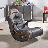 X Rocker G-Force, Faux Leather, Black, 92 x 64 x 84 cm