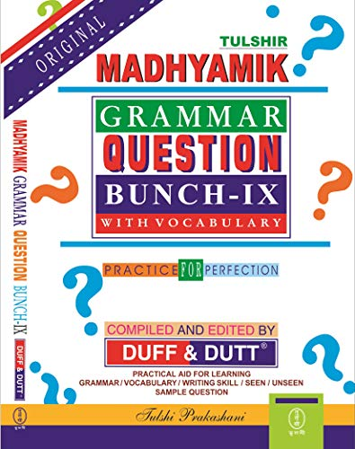 West Bengal Madhyamik Grammar Question Bunch (Class - IX) with Vocabulary