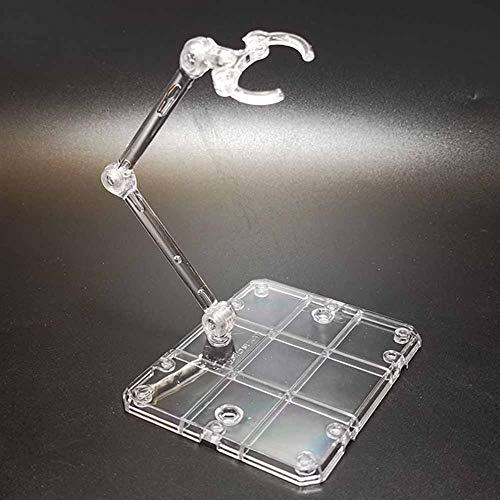 QiKun-Home Para Robot Soul Bracket para HG 1/144 Hand Model Bracket Saint Seiya Hand Around The Universal Bracket Transparente