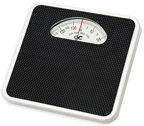GVC Deluxe Personal Weighing Scale Analog Mechanical (BLACK)