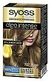 SYOSS OLEO INTENSE - Tono 7 Rubio Medio – Coloración permanente sin amoníaco – Resultados de peluquería – Cobertura profesional de canas - 3 x 120 g