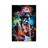 NENBN Jimi Hendrix Kunstdruck, Leinwand-Kunst-Poster und