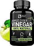 Best Apple Cider Vinegar Capsules - 100% Natural Raw Apple Cider Vinegar Pills from Review