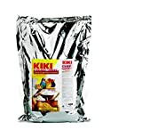 Pasta de cría amarilla para pájaros granívoros KIKI GOLDEN MOUSSE - Saco de 5 kg