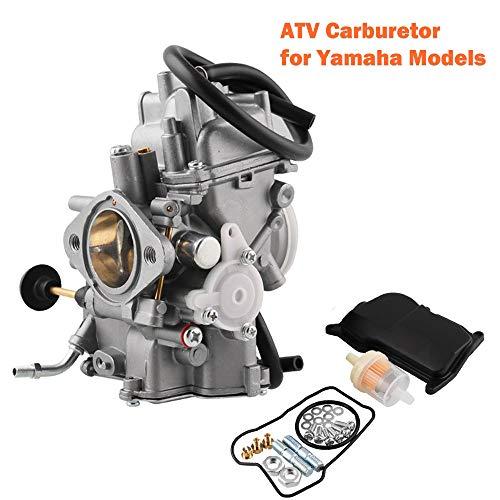Sporacingrts Carburetor Carb for ATV Yamaha 1987-1990 1992-1995 Moto-4 350 YFM350/1987-1998 Big Bear 350 YFM350/1995 Wolverine 350 YFM35F/1996-1998 Kodiak 400 YFM400/1987-2004 Warrior 350 YFM350