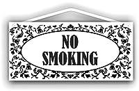 喫煙禁止 ウッドサインショップ注意看板木製素材ショップ看板壁画安全標識ディスプレイボードポスター壁画情報装飾レストラン日本人食料品店カフェ旅行用品誕生日新年クリスマスパーティーギフト