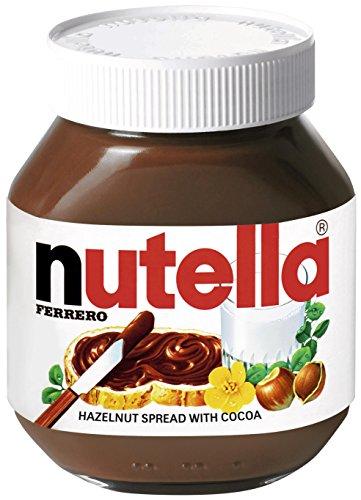 Nutella Hazelnut Spread with Cocoa, Jar, 750g