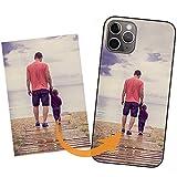 IDTB SKINS Custodia Cover Personalizzata con la Tua Foto, Immagine Stampa di qualità Fotografica per Apple iPhone 12 ,iPhone 12 Pro