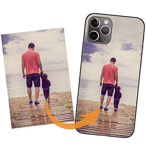 IDTB SKINS Custodia Cover Personalizzata con la Tua Foto, Immagine Stampa di qualità Fotografica per APPLE iPhone XR