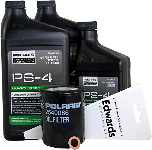 Polaris OEM PS-4 Oil Change Kit for 2018 Ranger XP 900