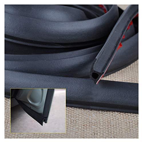 Piaopiao 8m / 4m / 5m D/P/z/b Forma Car Porta Bordo Guarnizione in Gomma Weatherstrip Hollow Soundproof Dispolvere Stampaggio Stampaggio Protector (Color : 4M P Type)