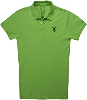 Polo piqué Sun SP Club Verde flúor XXL: Amazon.es: Coche y moto