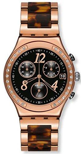 Swatch Dreamnight 14rosa señoras reloj ycg404gc