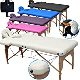 Beltom Table de Massage 2 Zones Portables...